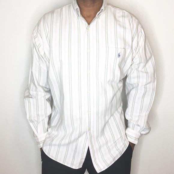 b0cf080bece Ralph Lauren Blaire Men Button Down Dress Shirt XL.  M 5b0b5a26739d481b67d9554b
